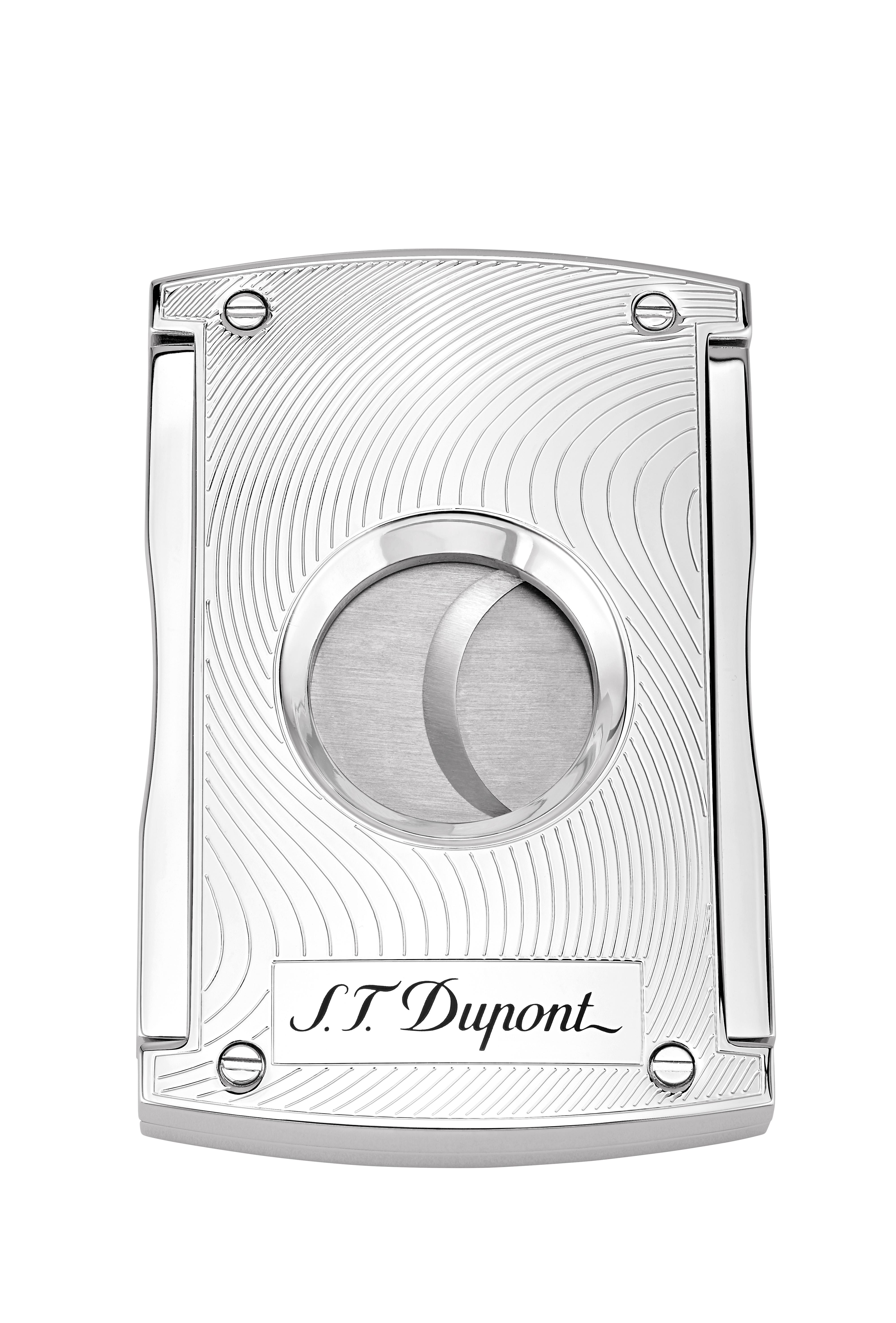 S.T. Dupont Cigar Cutter Vibration Chrome