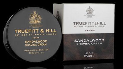 Shav cream tub  sandalwood