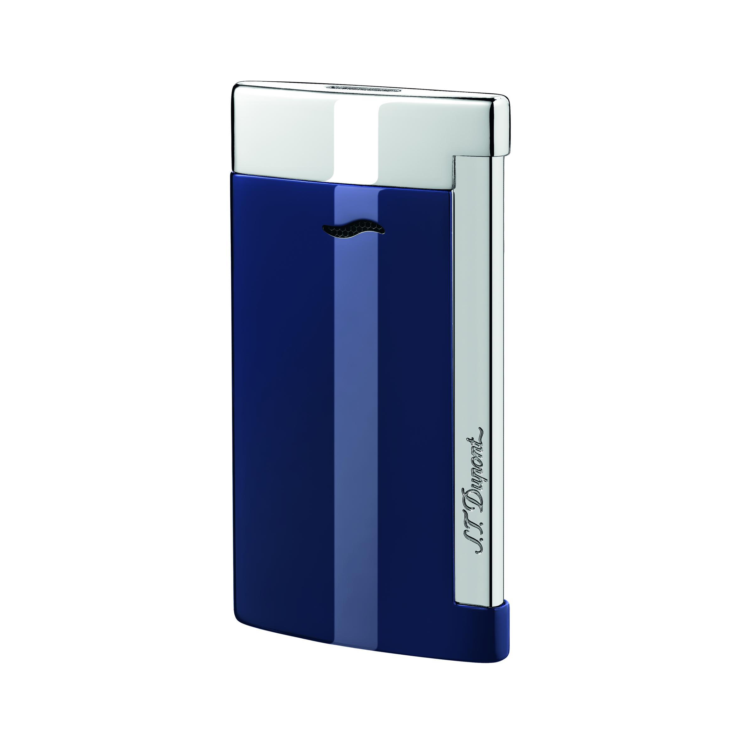 S.T. Dupont Slim 7 Chrome/Blue
