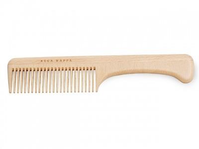 Acca Kappa Beechwood Comb With Handle
