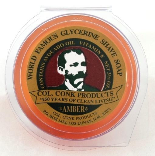 Col. Ichabod Conk Shave Soap Amber 3.75oz