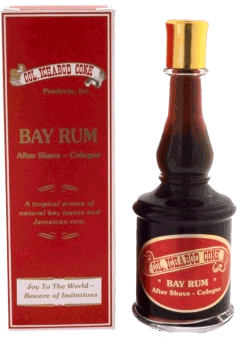 Col. Ichabod Conk Bay Rum After Shave 4oz.