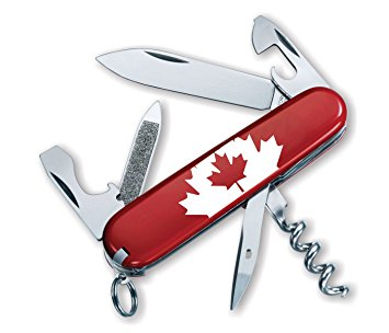 Swiss Army Victorinox Sportsman Red Canadian Flag