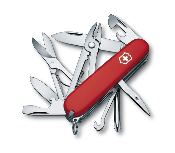 Swiss Army Victorinox Deluxe Tinker Red