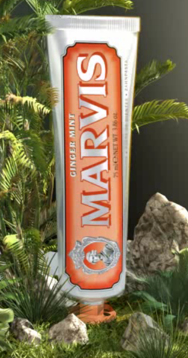Marvis Ginger Travel Toothpaste 25ml