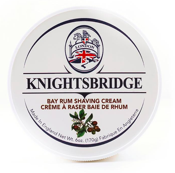 Knightsbridge Shave Cream Bay Rum 170g