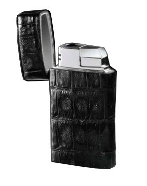 Brizard Venezia Genuine Caiman Torch Lighter