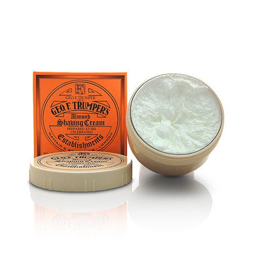 Geo F Trumper Almond Shaving Cream 200g
