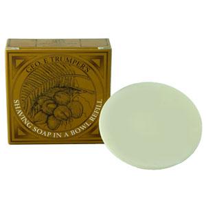 Geo F Trumper Coconut Shaving Soap Refill 80g