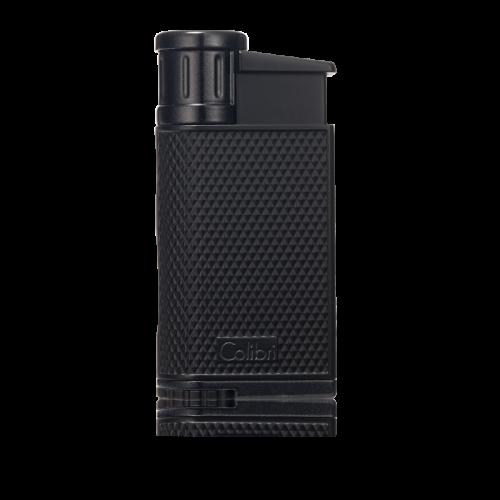 Colibri EVO Single-Jet Flame Lighter Black/Black