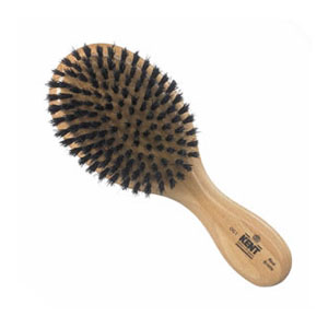 Men's hair brush oval fine med