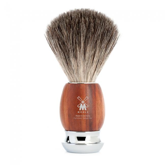 Muhle VIVO Shave Brush Badger Plum Tree