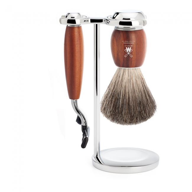 Muhle VIVO Shave Set M3 Plum Tree