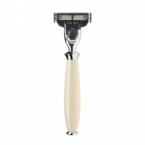 Purist - 3-blade razor, high-grade resin ivory