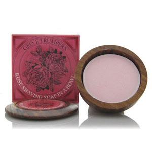Rose Shaving Soap Bowl