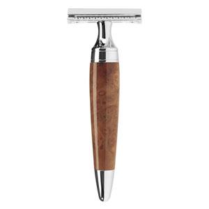 Safety razor thuya wood