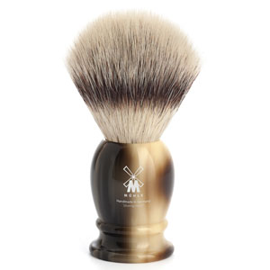 Shavebrush synthetic brown res