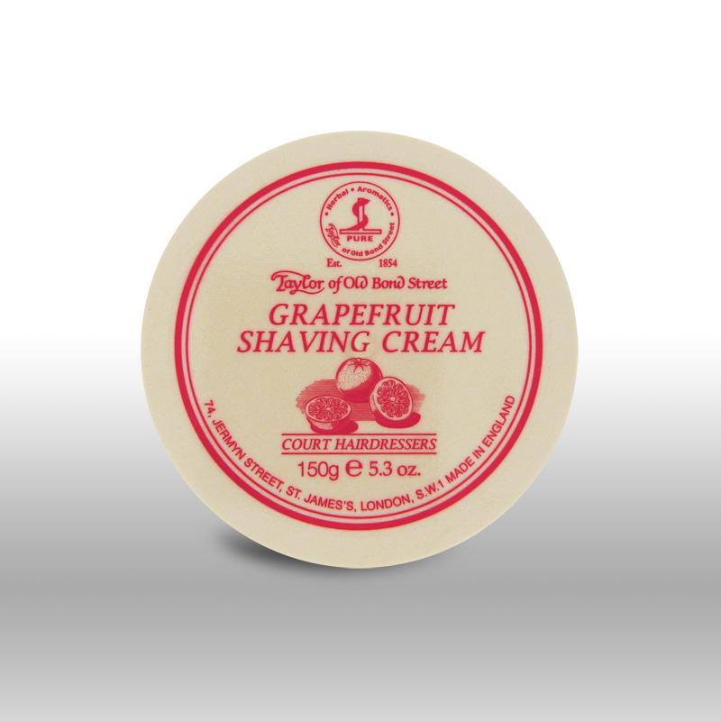 Taylor Of Bond Street Grapefruit Shaving Cream 150g