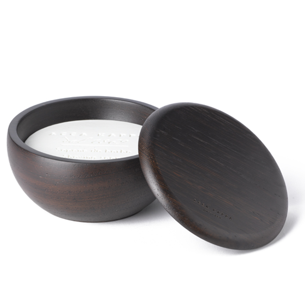 Acca Kappa Shaving Bowl Wenge Wood With Shaving Soap