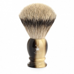 "Shave Brush Silvertip XL. Brown  25mm / 0.98""  Resin"