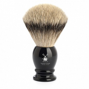 "Shavebrush Silvertip  XL.  Black  25mm / 0.98""  Resin"