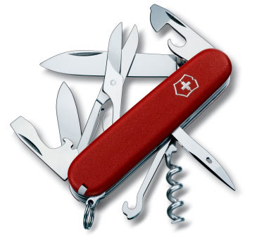Swiss Army Climber Knife