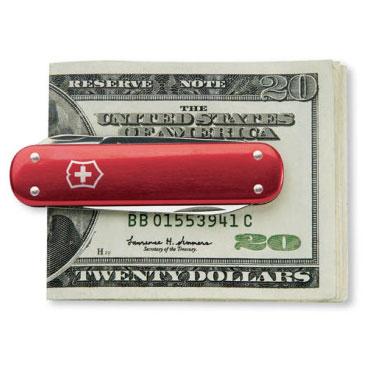 Swiss Army Money Clip Pocket Knife