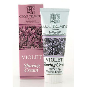 Violet Shaving Cream Tube 75g