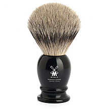 Shavebrush st black resin
