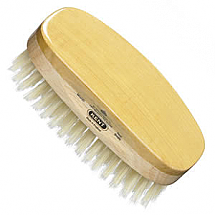 Brush mens oval white bristle