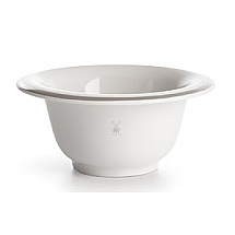 Shavebowl in white porcelain