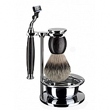 Shaveset 4 pcs m3 silver-tip a