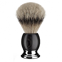 Shavebrush Silvertip African Blackwood  L.  23mm / 0.90""