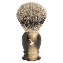 "Shavebrush Silvertip Brown L 23mm / 0.90""  Resin"