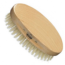 Men's oval pure bristle