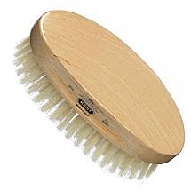 Men's oval pure bristle