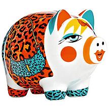 Ritzenhoff Porcelain Mini Piggy Bank