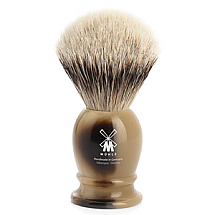 "Shavebrush Silvertip Brown  S  19mm / 0.75""  Resin"