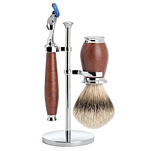 Shave Set 3 Pieces Fusion Silver-tip