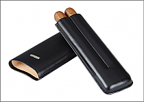 Cigar case 2 churchill black