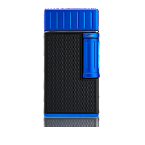 Colibri Julius Soft Flame Matte Black/Blue