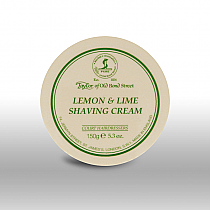 Taylor Of Old Bond Street Lemon Lime Shaving Cream 150g
