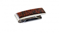 Brizard Money Clip Wenge Wood