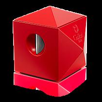 Colibri Quasar Red Two-in-One Desktop Cigar Cutter