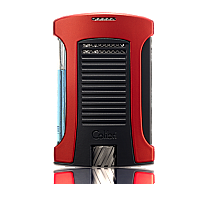 Colibri Daytona Single Jet Black/Red