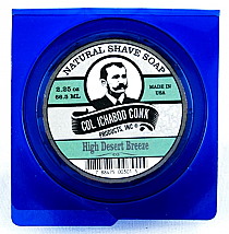 Col. Ichabod Conk Natural Shave Soap High Desert Breeze  2.25oz