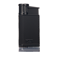 Colibri EVO Single-Jet Flame Lighter Black/Black