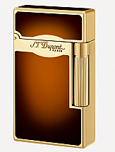 S.T. Dupont Ligne 2 Le Grand Brown/Gold