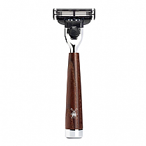 Muhle Razor Mach3  Steamed Ash Wood