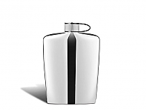 Flask steel 5.4oz m. vagnby